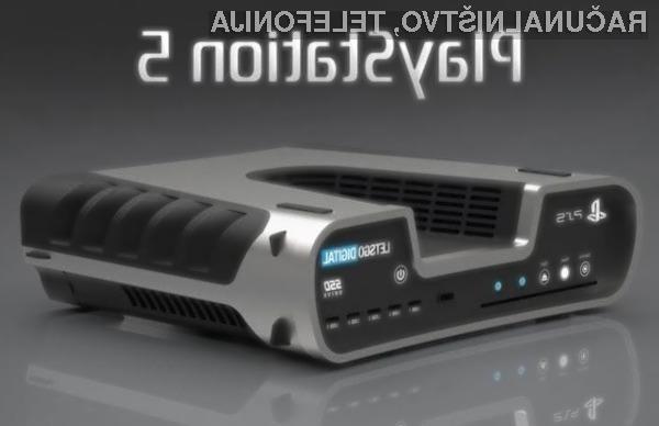 Za nakup igralne konzole Sony PlayStation 5 bo treba odšteti okoli 500 evrov.