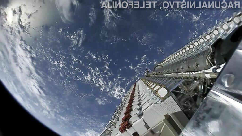 Satelitsko internetno omrežje bo zaživelo sredi naslednjega leta.