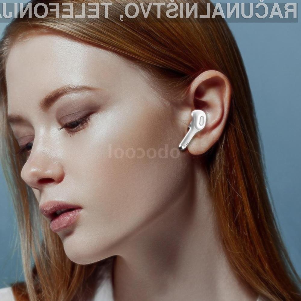 Poceni a uporabne brezžične slušalke T9S TWS Earbuds.