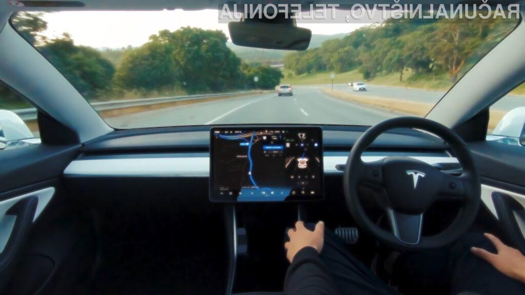 Tesla in avtopilot: samostojna vožnja morda že konec letošnjega leta