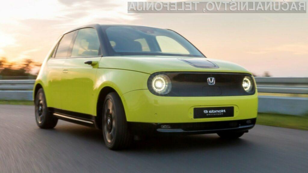 Honda v Evropi od leta 2022 le še z (delno) električnimi vozili