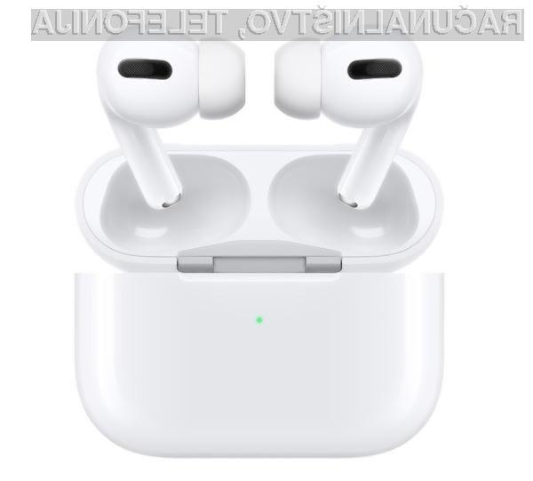 Za slušalke Apple AirPods Pro bo treba odšteti kar 279 evrov.