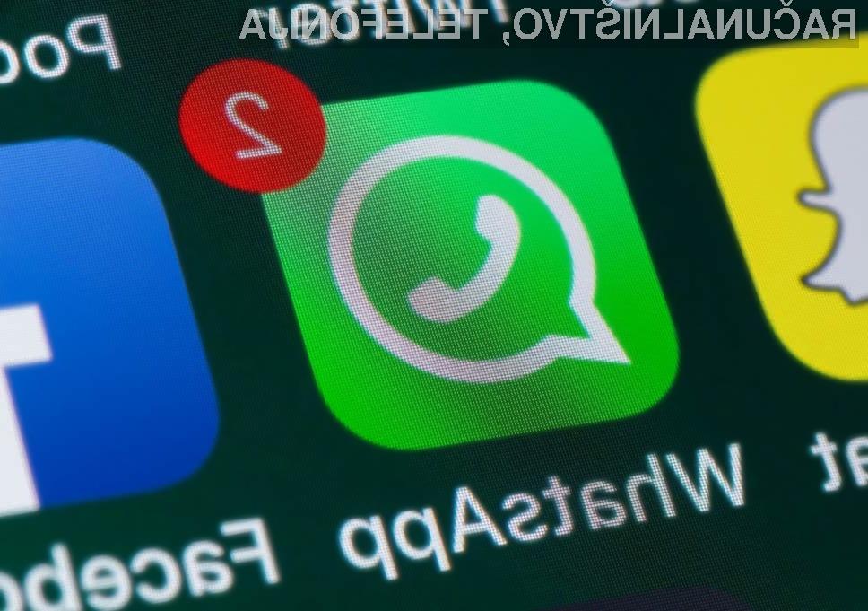 WhatsApp bo sprva uporabnikom ponudil tri možnosti samodejnega izbrisa sporočil.