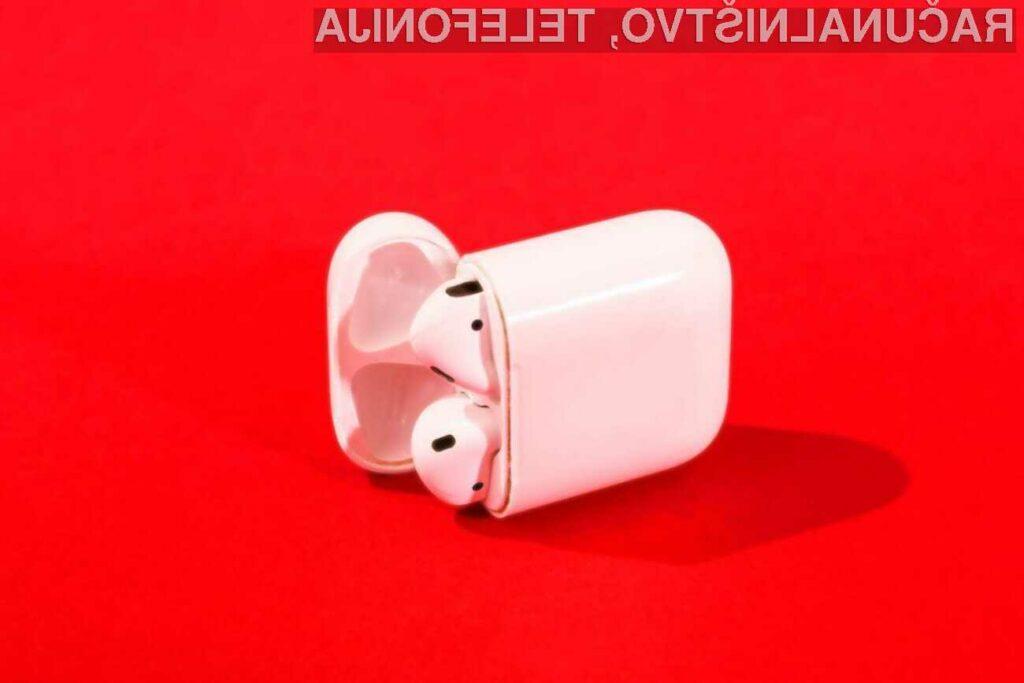 Nove slušalke AirPods prihajajo še ta mesec