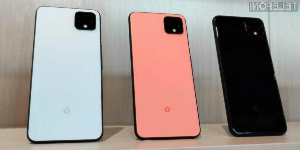 6 lastnosti Googlovega pametnega telefona Pixel 4