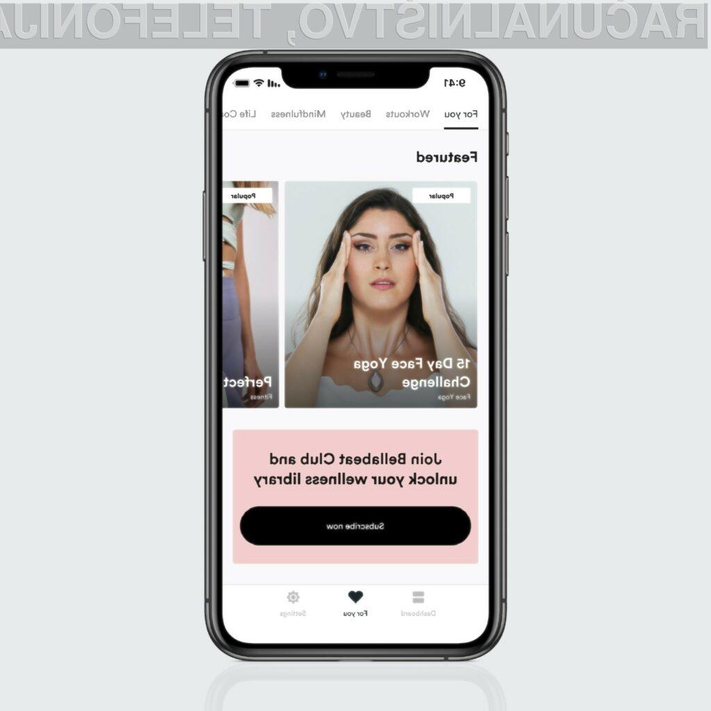 Vsi pametni izdelki znamke Bellabeat se povezujejo z Bellabeat Wellness Coach mobilno aplikacijo.