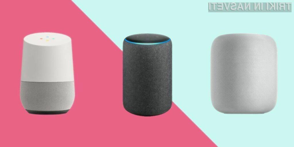 Kaj kupiti? Pametni zvočnik ali pametni zaslon?