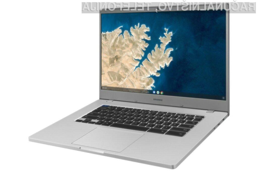 Prenosniki Samsung Chromebook 4 navdušujejo v vseh pogledih.