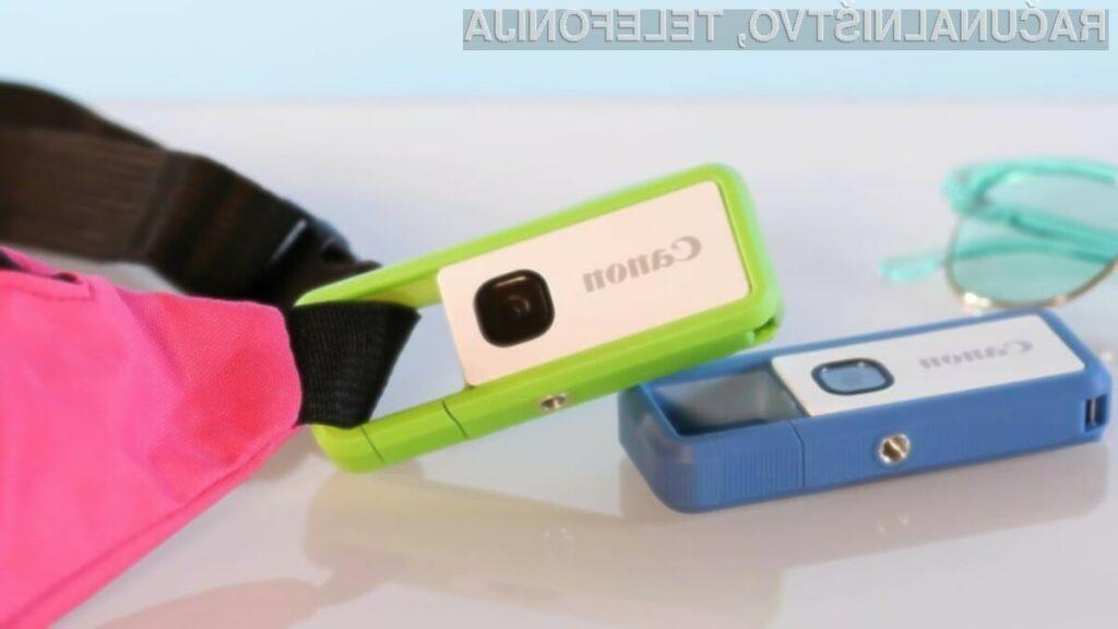Digitalni fotoaparat Canon Ivy REC je nadvse kompakten in zelo zmogljiv!