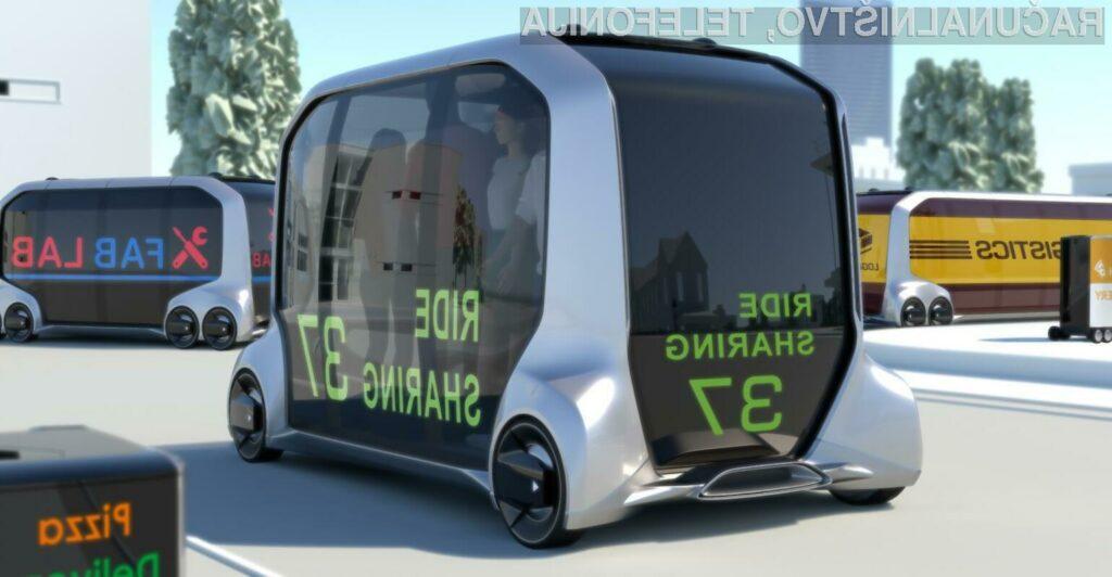 Toyotin avtonomni e-Pallete bo prevažal udeležence poletnih olimpijskih iger 2020