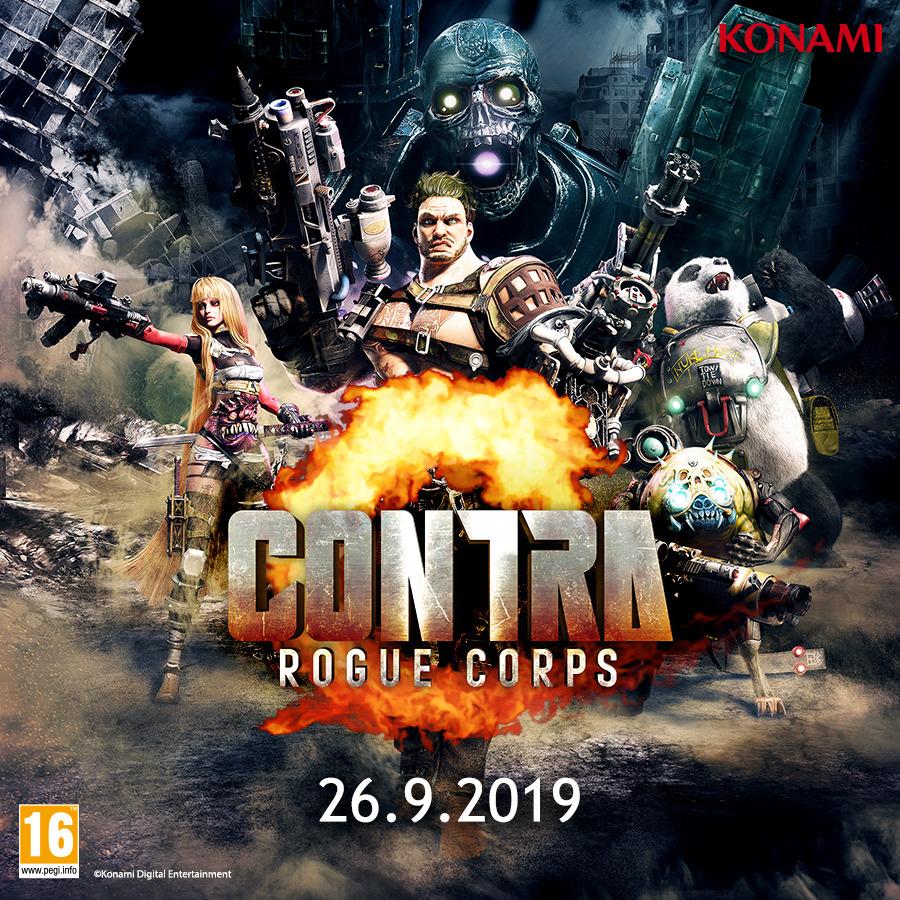 Contra - Rogue Corps: od zgoraj gledana streljanka s poudarkom na zbiranju robe