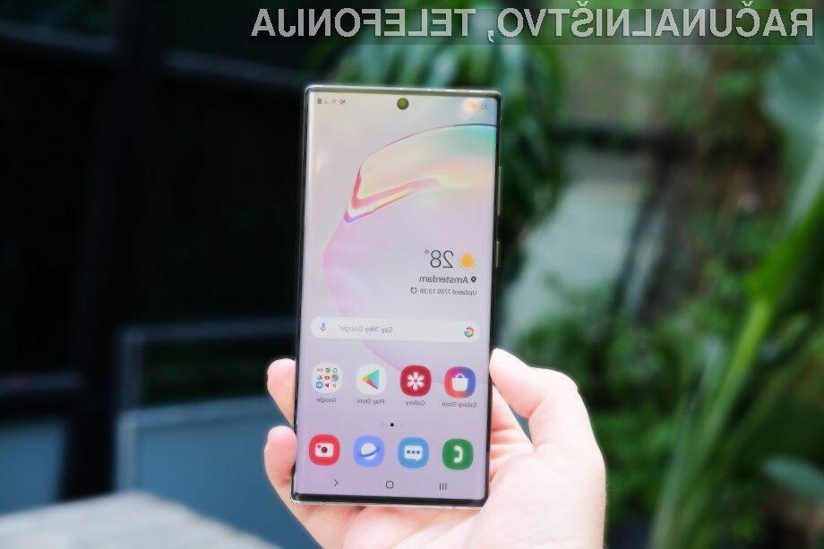 Samsung uspešen v prodaji modela Note 10