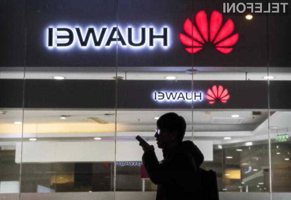 Trump za, da ameriška podjetja prodajajo Huaweju