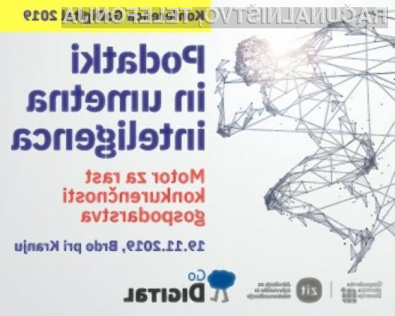 Vabljeni na osrednjo poslovno konferenco GoDigital - Podatki in umetna inteligenca