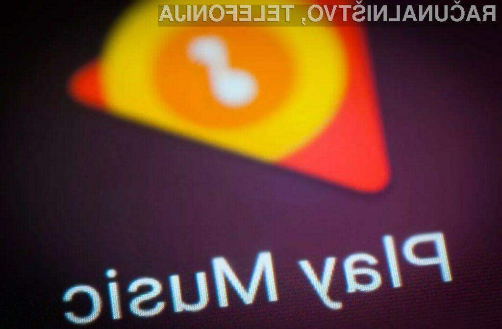 Google Play Music je na mobilne naprave Android preneslo že več kot pet milijonov uporabnikov širom sveta.