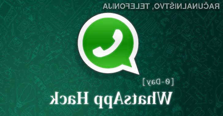 Uporabljate WhatsApp? Tole vam ne bo všeč