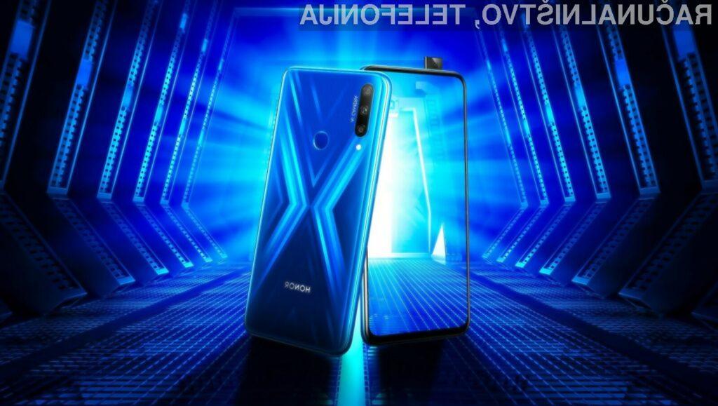 Priljubljeni Honor 9X je sedaj na voljo tudi za evropski trg.