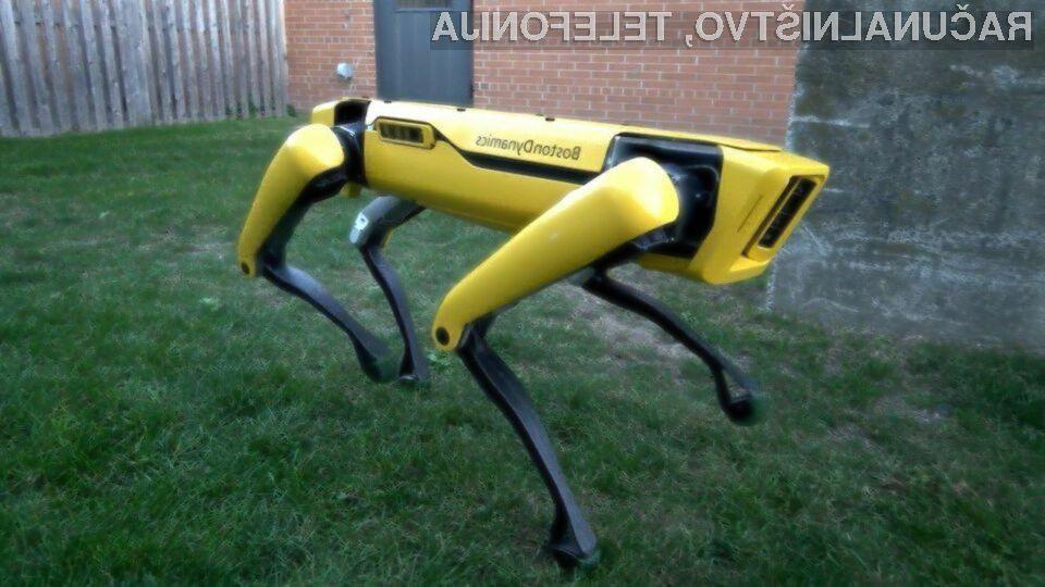 Prvi komercialno razpoložljiv štirinožni robot je že na voljo za najem.