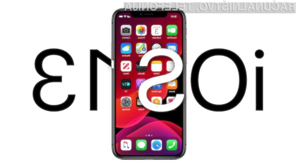 Novi Apple iOS 13.1.3 se nedvomno splača namestiti!