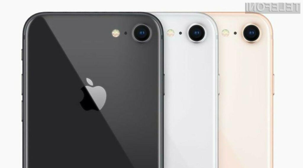 Poceni Apple iPhone SE 2 naj bi temeljil na osnovi ohišja telefona iPhone 8.