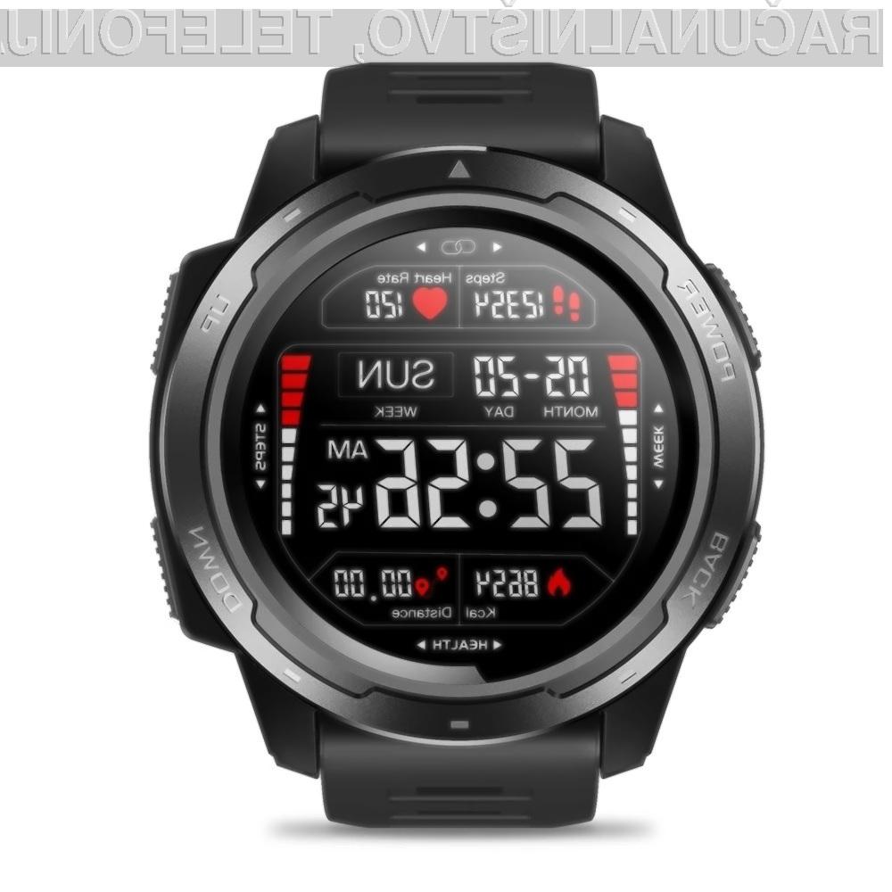Športna ročna ura Zeblaze VIBE 5 Smart Watch je lahko vaša že za 36,43 evrov.