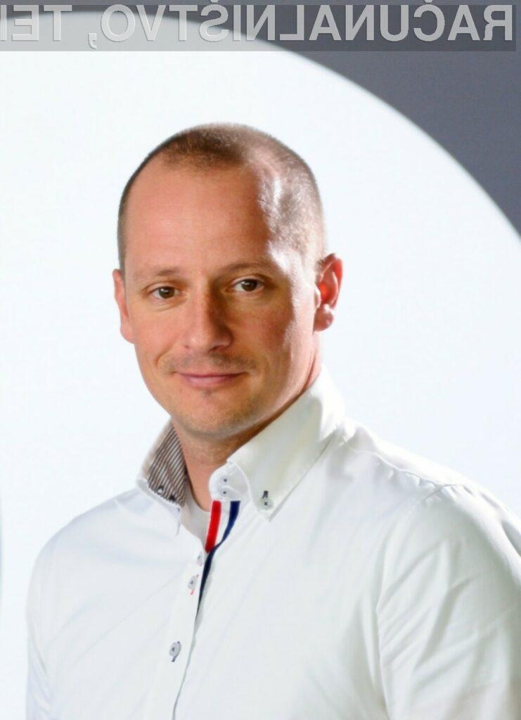 Luka Gabrovšek, poslovni direktor, Mastercard Slovenija