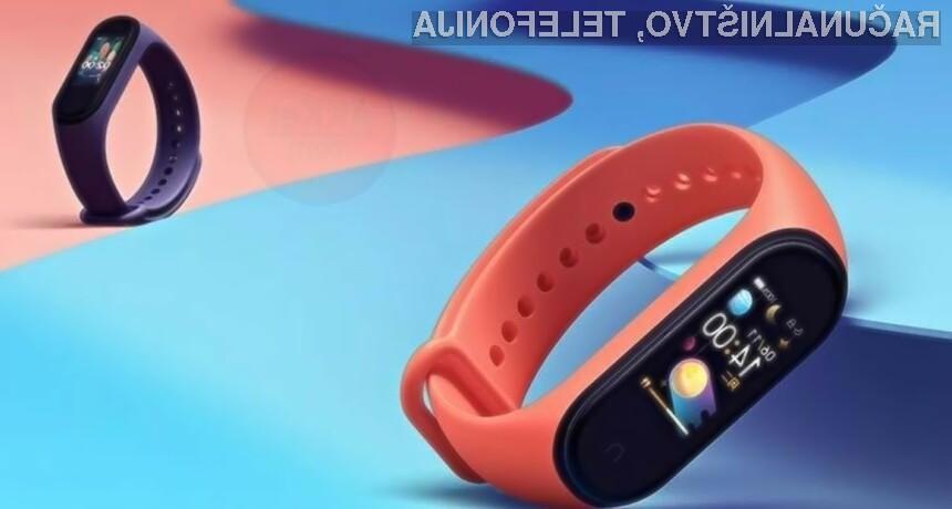 Pametna zapestnica Xiaomi Mi Band 5 bo omogočala uporabo tehnologije NFC povsod po svetu.