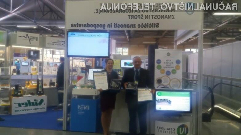 Zlato priznanje je prejel Kemijski inštitut in Janez Škrlec, Razvojna raziskovalna dejavnost, posebno priznanje je prejelo MIZŠ.