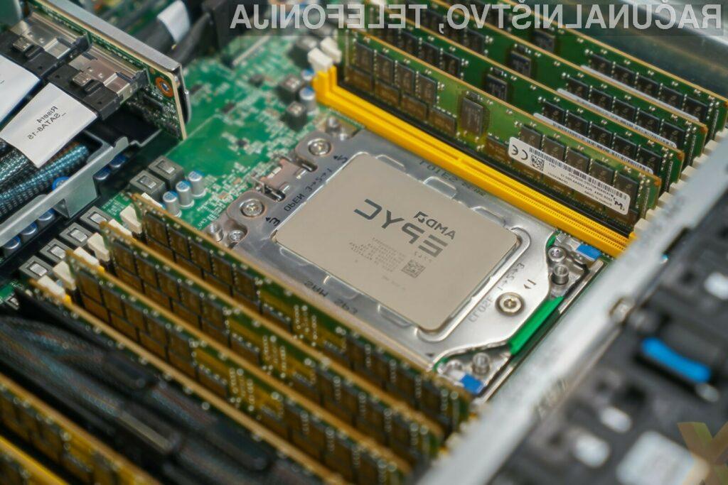 Nova generacija strežniških procesorjev AMD EPYC bo pošteno zagrenila življenje konkurenčnemu podjetju Intel.