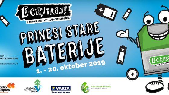 Ljubljana v oktobru zbira stare baterije
