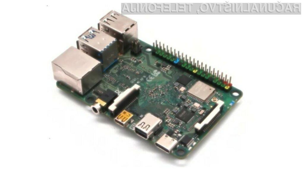 Radxa Rock Pi 4C izstopa kot eden od konkurentov miniaturnega računalnika Raspberry Pi 4