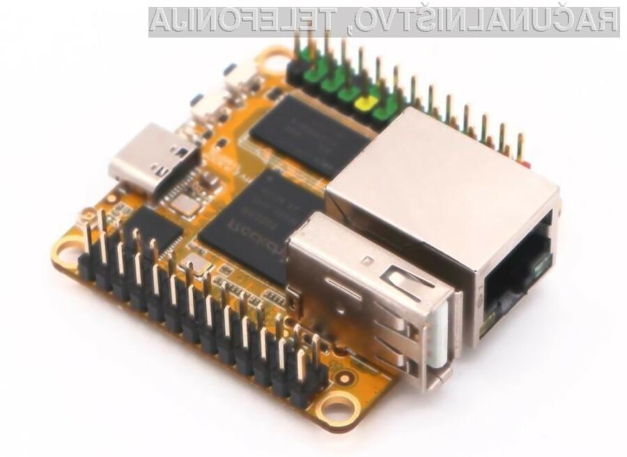Novi osebni računalnik Rock Pi Z podjetja Radxa je za polovico manjši od njegovih predhodnikov.