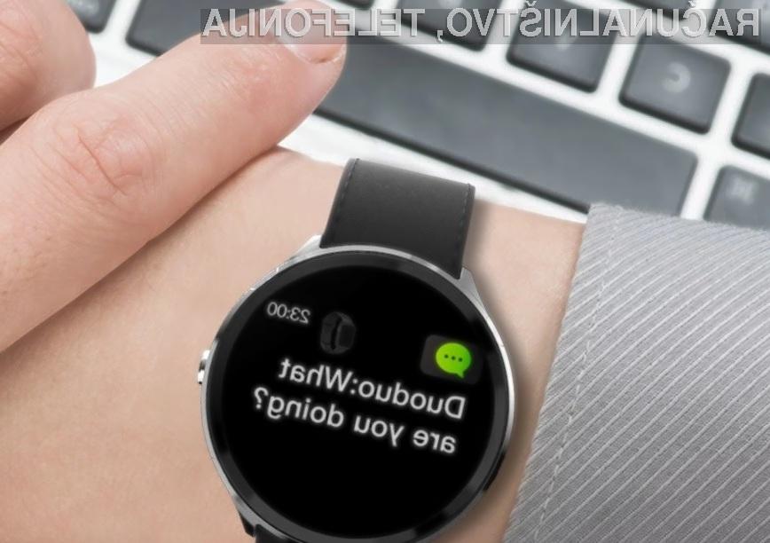Vodoodporna pametna ura Kospet V12 Smart Watch vas ne bo pustila na cedilu!