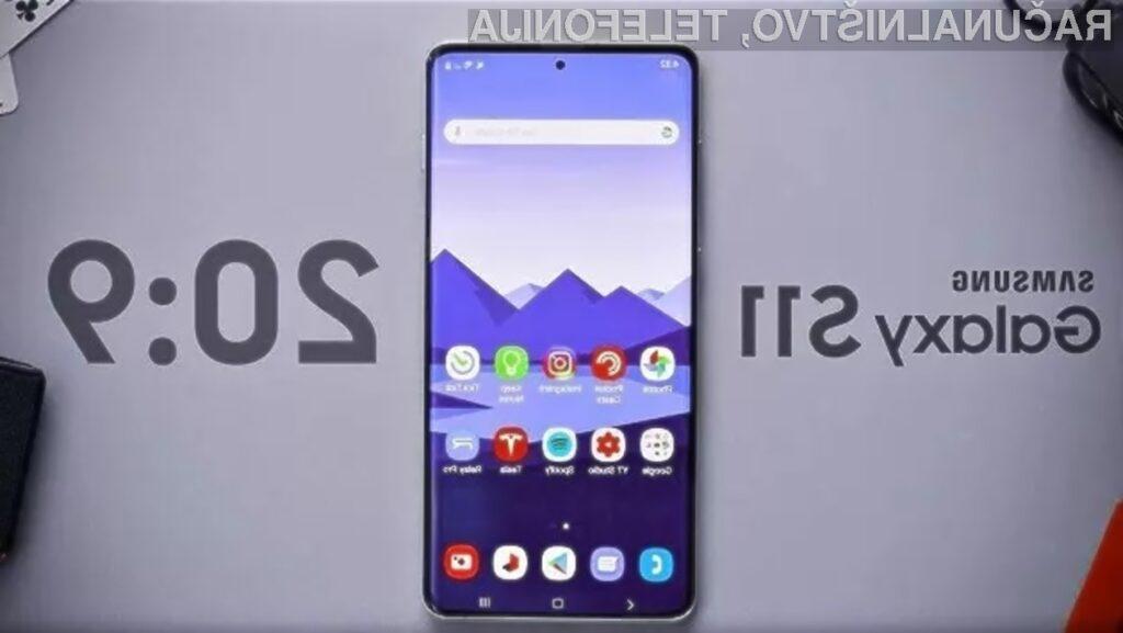 Samsung Galaxy S11 naj bi bil uradno predstavljen februarja naslednjega leta.