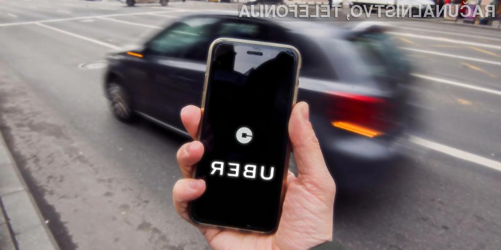 Uberjevi vozniki zelo redko dobijo napitnino. Razlog?