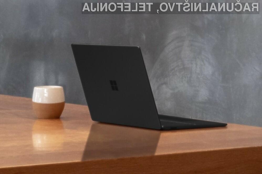 Surface Laptop 3 je prvi tablični računalnik podjetja Microsoft s procesorjem AMD.