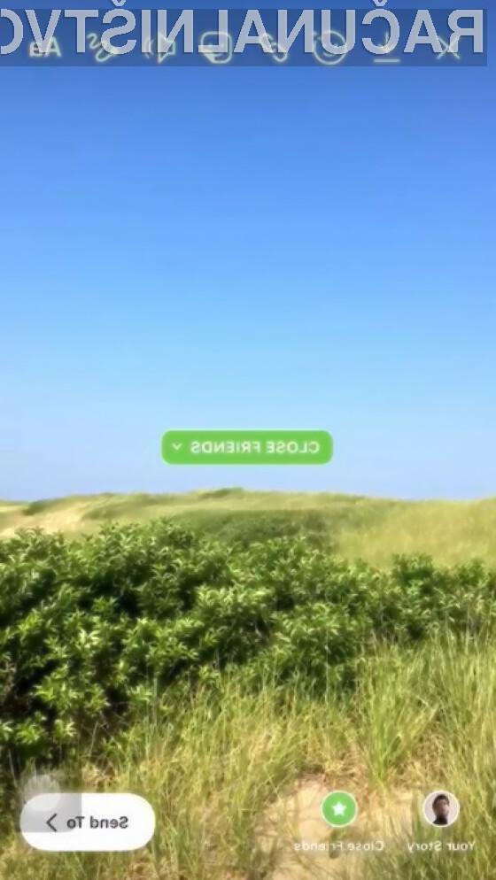"""Uporabite tole """"Close Friends"""" nalepko in se pozabavajte s prijatelji"""