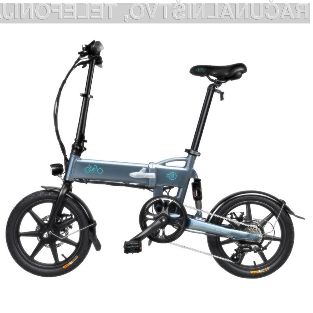 Zložljivo električno kolo FIIDO D2S je predvsem izredno priročno.