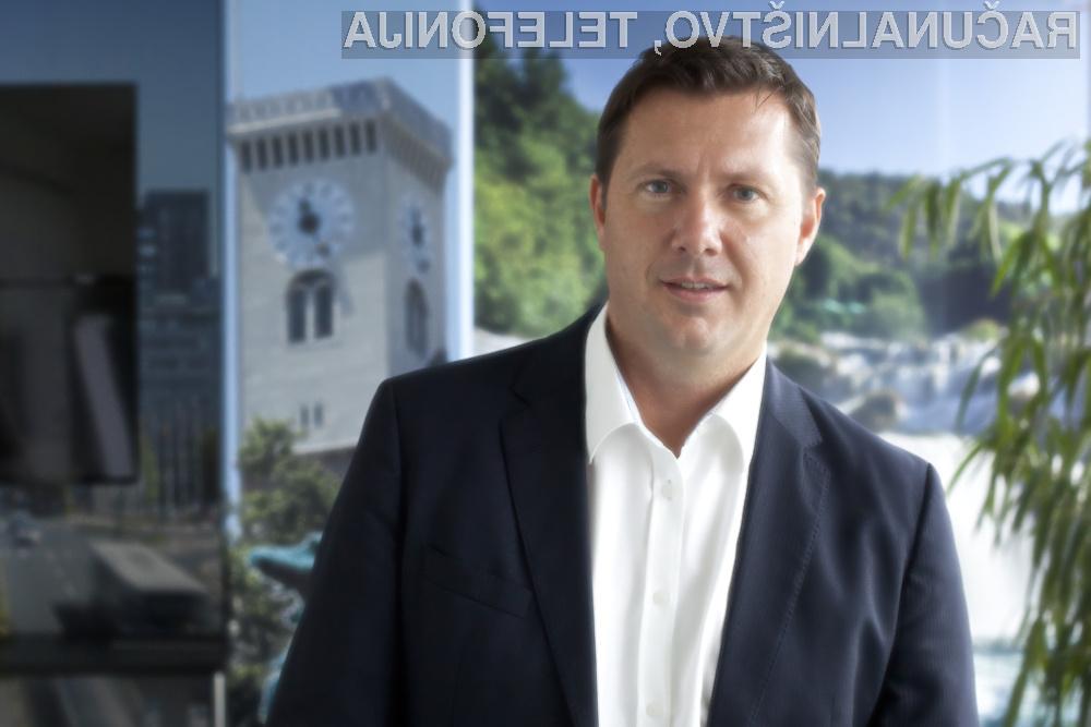 Julij Božič, direktor Oracla v Sloveniji