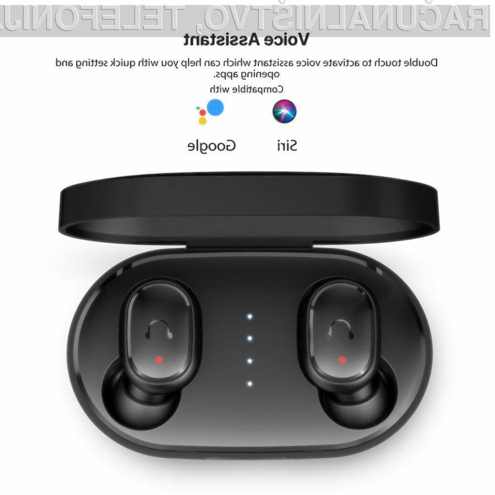 Poceni brezžične slušalke s podporo za Siri in Googlovega asistenta