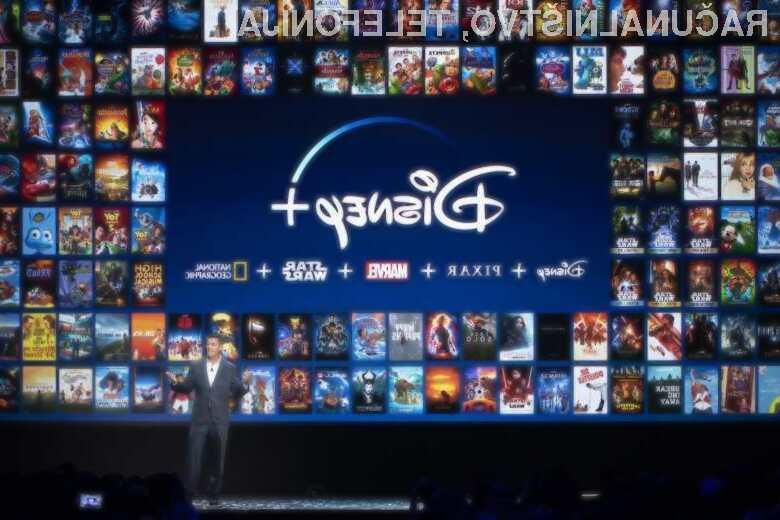 Prišel je Disney+