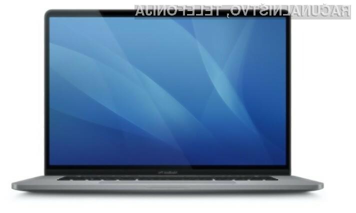 Novi prenosnik Apple MacBook Pro naj bi bil opremljen z grafično kartico AMD Radeon RX 5300M ali Radeon RX 5500 MX.