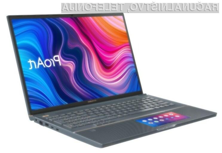 Prenosnik Asus ProArt StudioBook Pro X bo kot nalašč za najzahtevnejše naloge, povezane z grafičnim oblikovanjem.
