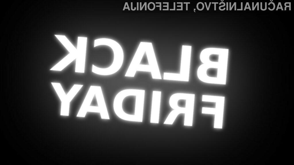 Brutalna, potrošniška statistika letošnjega »Črnega petka«