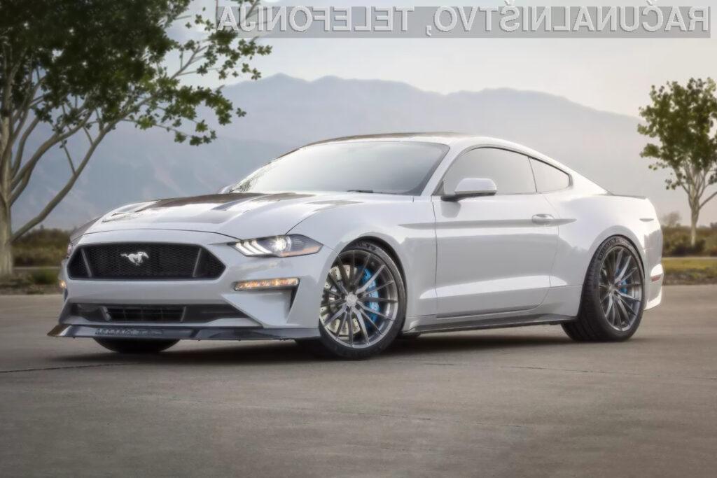Električni Ford Mustang gre v korak s časom