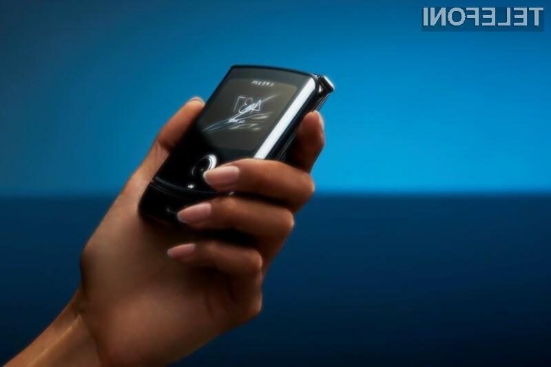 Novi Motorola Razr je že navdušil mnoge!