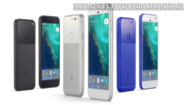 Pametna mobilna telefona Google Pixel in Pixel XL iz leta 2016 sta ostala brez varnostnih popravkov.