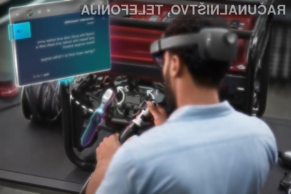 Za očala za navidezno resnično Microsoft HoloLens 2 je treba odšteti kar preračunanih 3.170 evrov.