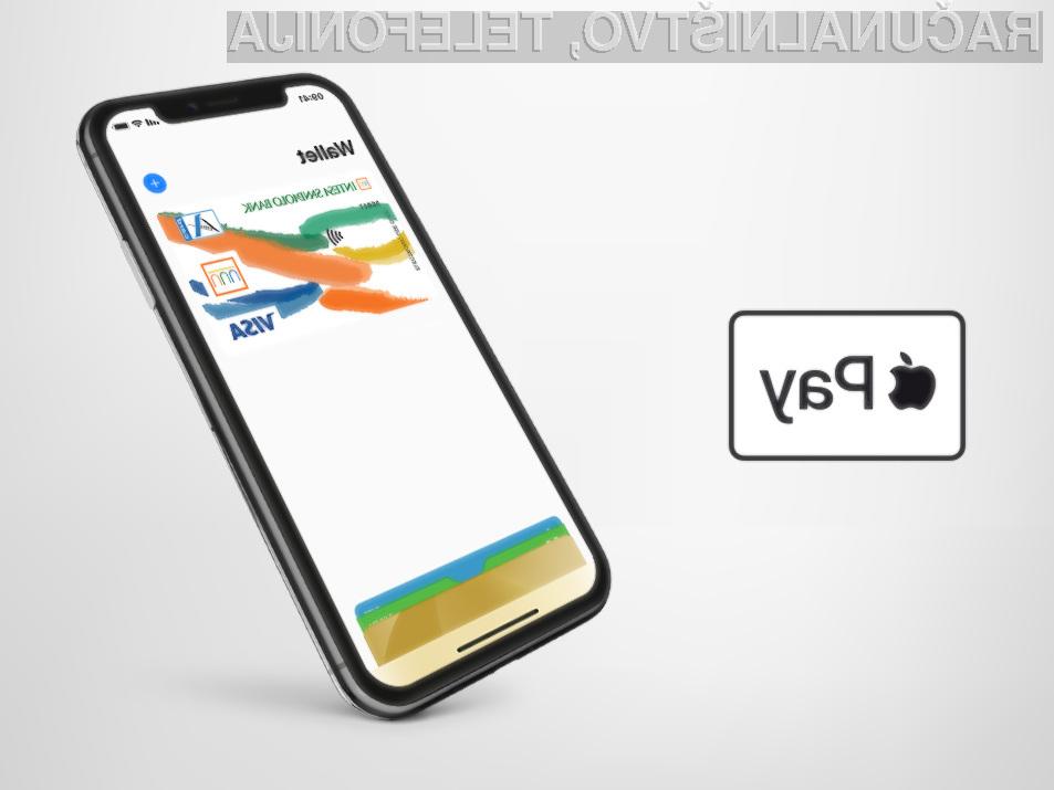 Varnost in zasebnost sta osrednja elementa Apple Pay.