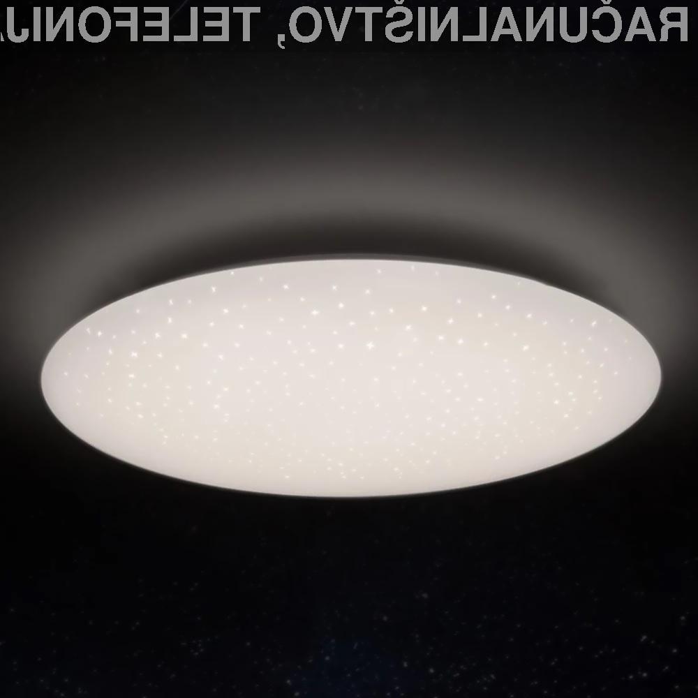Pametna svetilka Xiaomi Yeelight YLXD04YL je lahko naša že za zgolj 77,43 evrov.